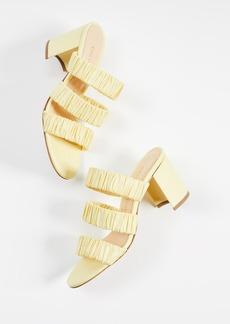 Chloé Chloe Gosselin 70mm Delphinium Slide Sandals