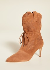 Chloé Chloe Gosselin Thelma Embroidered Pointed Boots
