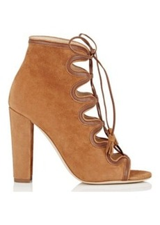 Chloé Chloe Gosselin Women's Angelica Suede & Leather Ankle Boots