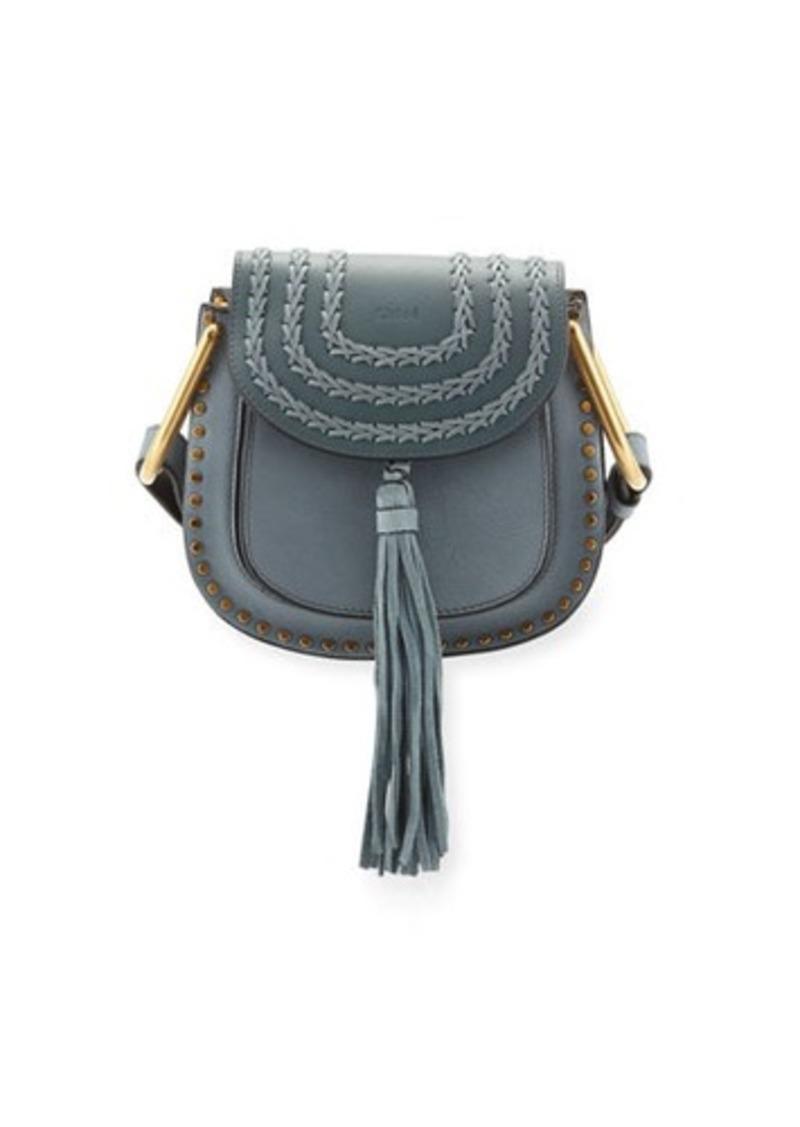 b11612ea983ba Chloé Chloe Hudson Mini Calf Leather Saddle Bag   Handbags