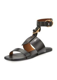 Chloé Chloe Kingsley T-Strap Flat Sandal