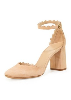 Chloé Chloe Lauren Scalloped D'Orsay Pump