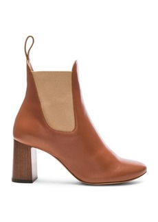 Chloe Leather Harper Ankle Boots