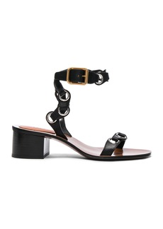 Chloé Chloe Leather Miller Sandals