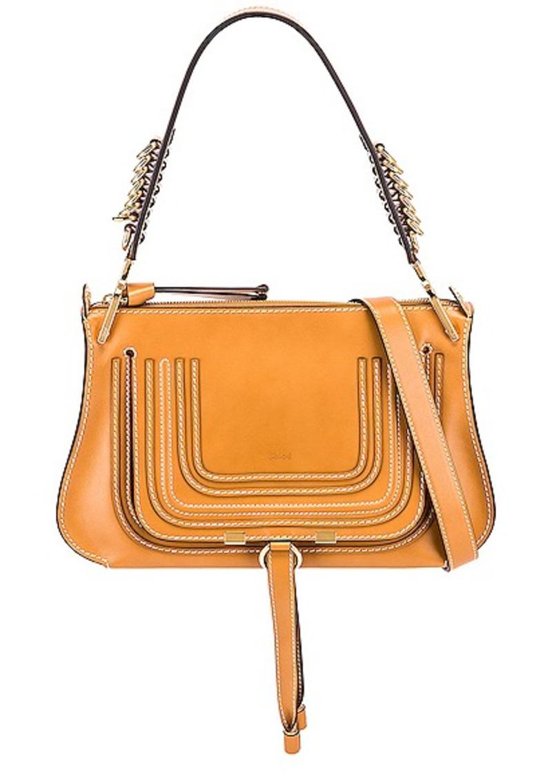 Chloé Chloe Medium Marcie Leather Saddle Bag
