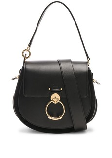 Chloé Chloe Medium Tess Shiny Calfskin Shoulder Bag