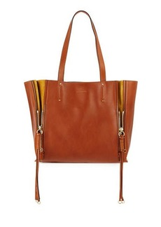 Chloé Chloe Milo Medium Leather & Suede Tote Bag