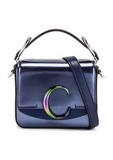 Chloé Chloe Mini C Iridescent Box Bag