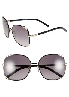 Chloe 'Nerine' 58mm Sunglasses