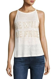 Chloé Chloe Oliver Be Wild Be Free Graphic Tank