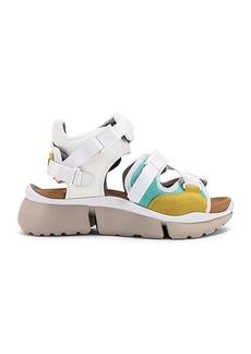 Chloé Chloe Open Sneakers
