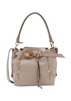 Chloé Chloe Owen Medium Leather Bucket Bag