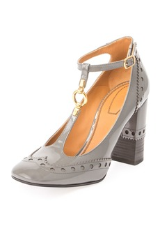 Perry Patent 95mm T-Strap Pump