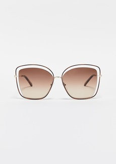 Chloé Chloe Poppy Cat Eye Sunglasses