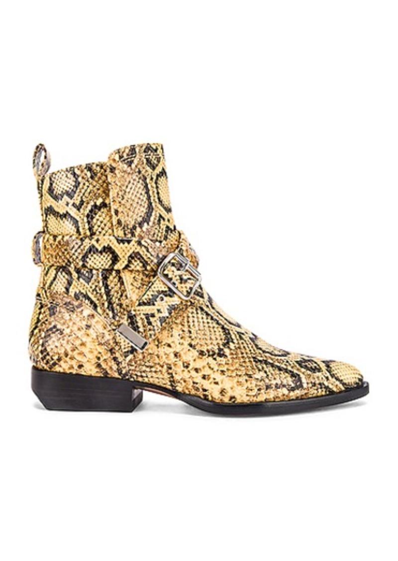 Chloé Chloe Python Print Rylee Boots