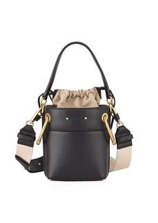 Chloé Chloe Roy Mini Smooth Leather Bucket Bag