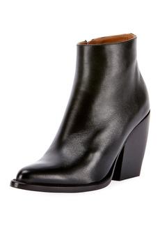 Chloé Rylee 90MM Block Heel Western Bootie