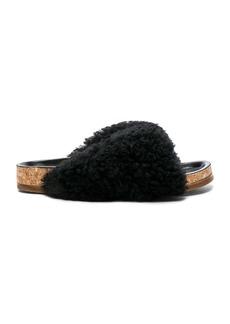 Chloe Shearling Fur Kerenn Sandals