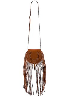 Chloé Chloe Small Marcie Fringe Saddle Bag