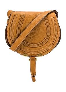 Chloé Chloe Small Marcie Grained Calfskin Saddle Bag
