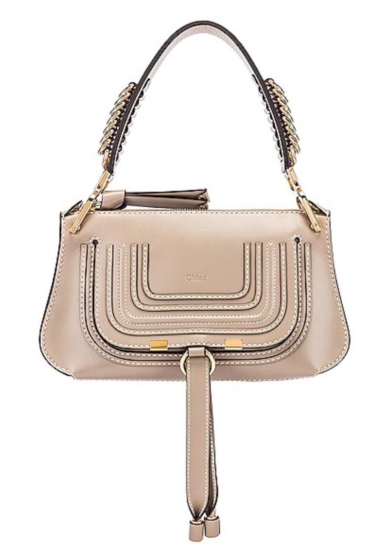 Chloé Chloe Small Marcie Leather Saddle Bag