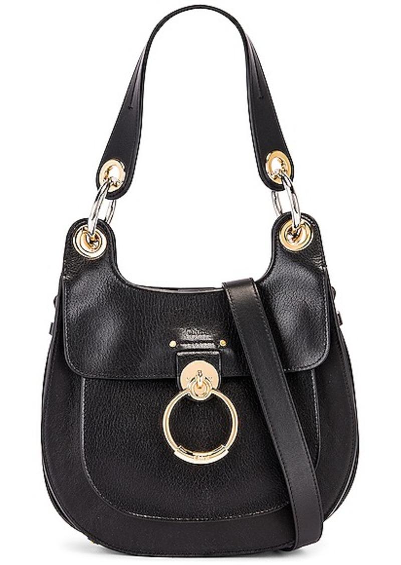 Chloé Chloe Small Tess Leather Hobo Bag