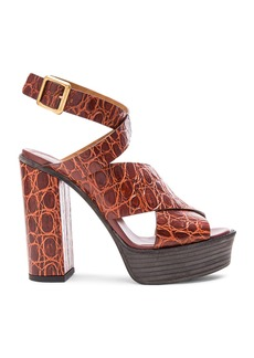 Chloe Strappy Platform Sandals