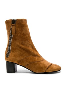 Chloe Suede Lexie Low Boots