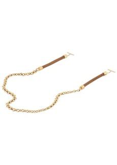 Chloé Chloe Sunglasses Chain W/ Leather