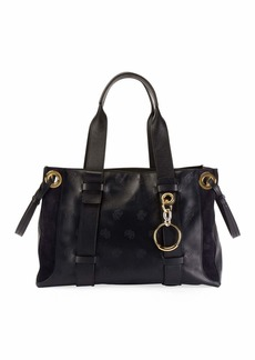 Chloé Chloe Tao Small Embroidered Tote Bag