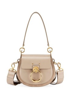 Chloé Chloe Tess Large Leather/Suede Camera Crossbody Bag
