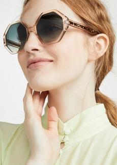 Chloé Chloe Willow Octagonal Sunglasses