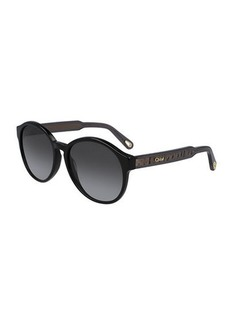 Chloé Chloe Willow Round Sunglasses