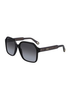 Chloé Chloe Willow Square Sunglasses