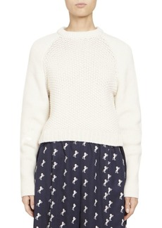 Chloé Chunky Wool Long Sleeve Knit Pullover