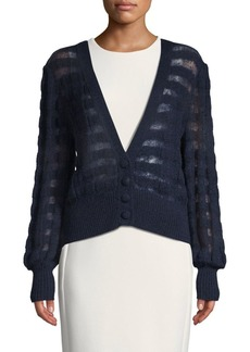 See by Chloé Classic Striped Cardigan