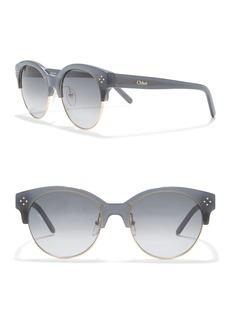 Chloé Clubmaster 54mm Sunglasses