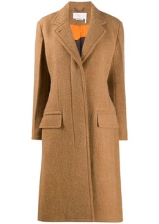 Chloé concealed front fastening coat