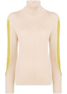 Chloé contrast roll-neck sweater