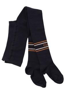 Chloé Cotton Blend Knit Tights