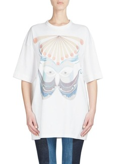 Chloé Cotton Graphic-Print Tee