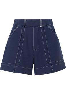 Chloé Cotton-twill Shorts