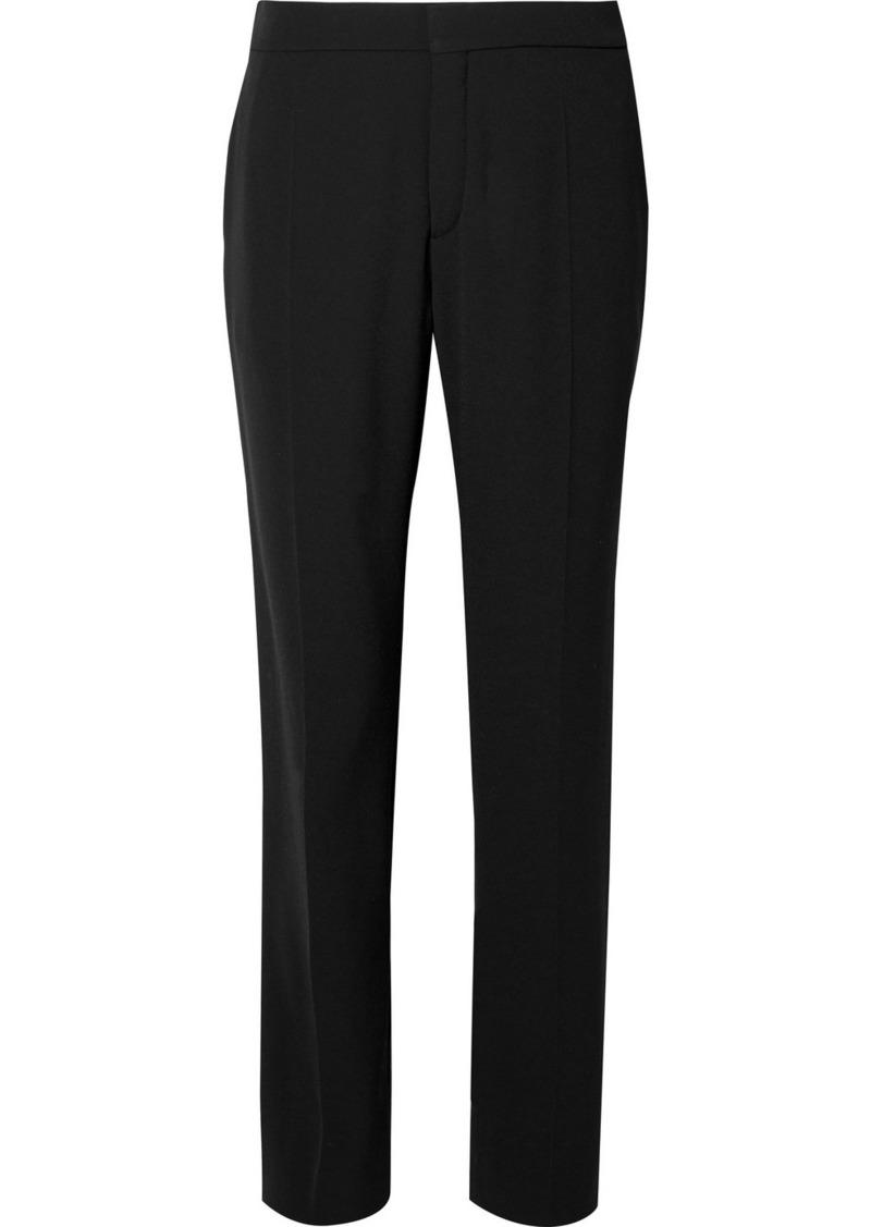 Chloé Crepe Straight-leg Pants