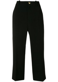Chloé cropped flared trousers