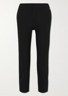 Chloé Cropped Stretch-wool Straight-leg Pants