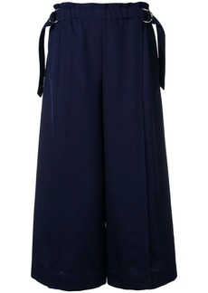 Chloé cropped wide-leg trousers