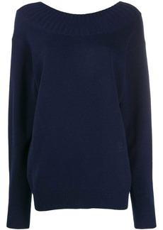 Chloé cutout back sweater