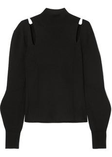 Chloé Cutout Wool Turtleneck Sweater