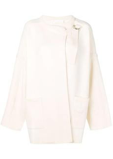 Chloé D-ring wrap sweater