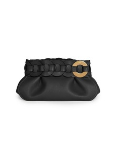 Chloé Darryl Leather Clutch